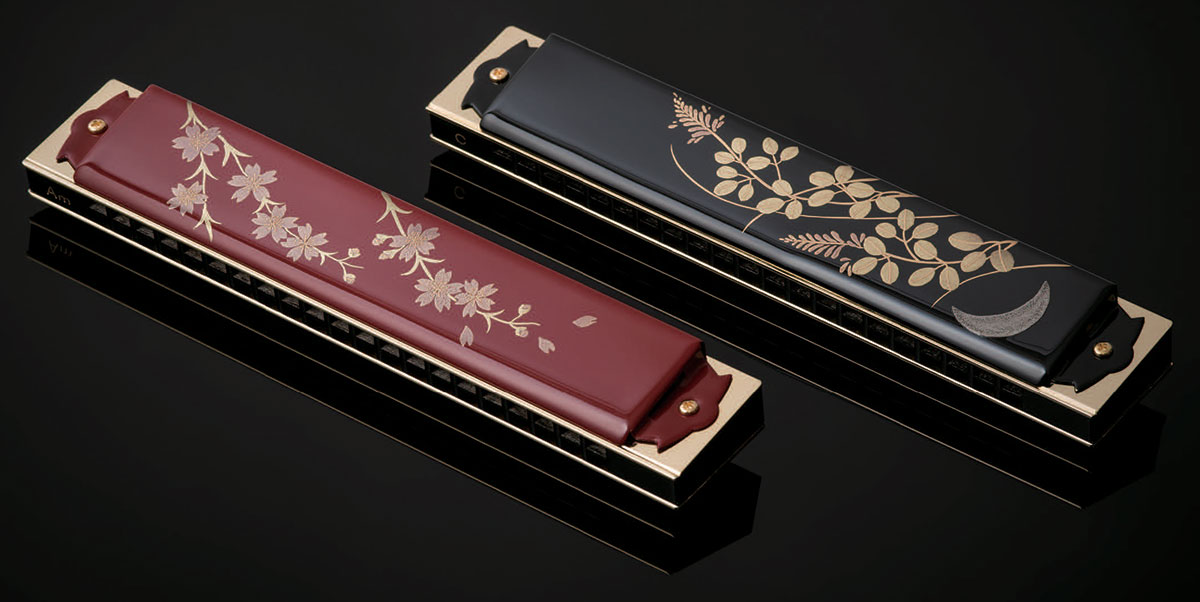 Tombo Harmonica 100th Anniversary Urushi Model 'C'