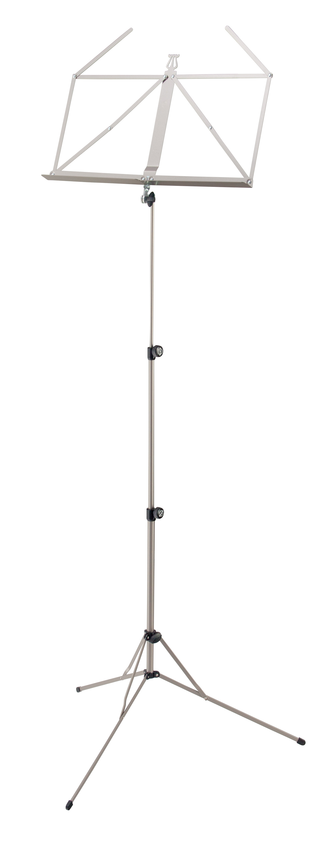 K&M Music Stand Baseline Nickel