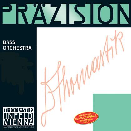 Precision Double Bass B Chrome Wound 4/4