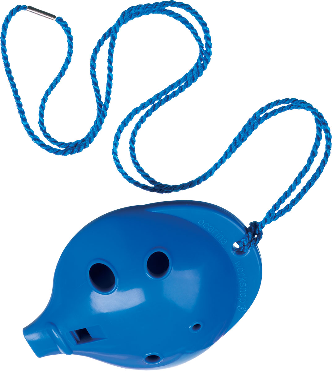 Ocarina Alto 6 Hole Blue in Clam Pack