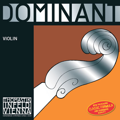 Dominant Violin E Chrome Steel loop 4/4 - Strong R