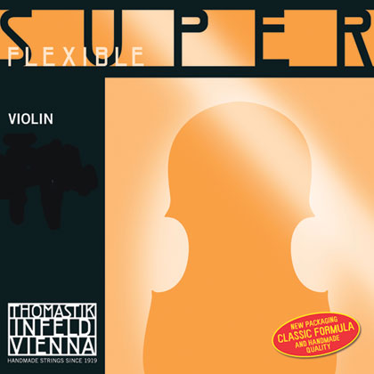 SuperFlexible Violin D 4/4 Chrome Wound - Strong R