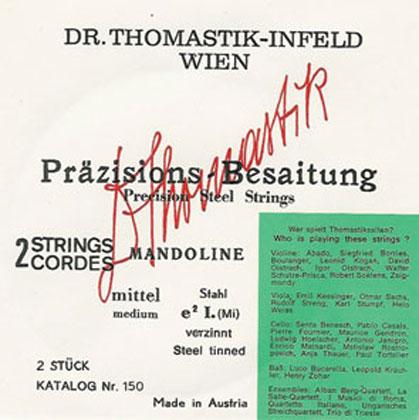 Thomastik Mandolin String D - Strong