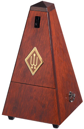 Wittner Metronome Wooden Mahogany Colour With Bell
