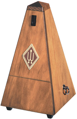 Wittner Metronome Wooden Walnut Colour With Bell
