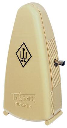 Wittner Metronome Taktell Piccolo Ivory White