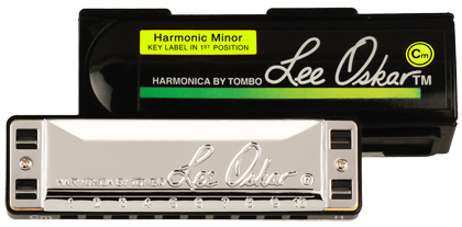 Lee Oskar Harmonica Harmonic Minor Bb