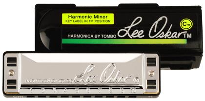 Lee Oskar Harmonica Harmonic Minor F