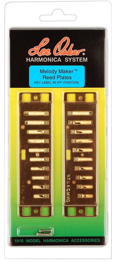 Lee Oskar Reed Plate Melody Maker D