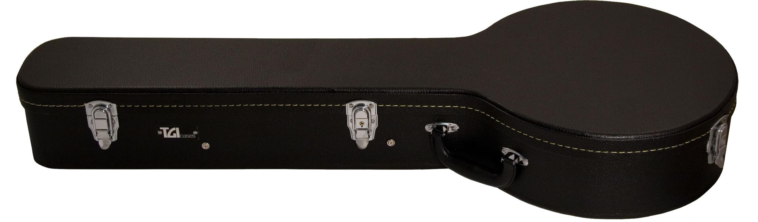 TGI Case Wood Banjo 5 String Wooden