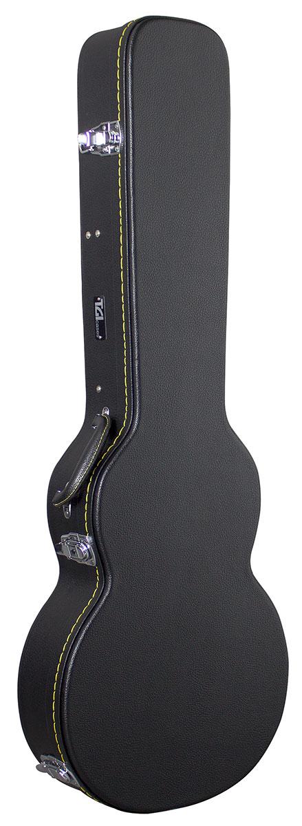 TGI Case Wood Electric LP Style Guitar