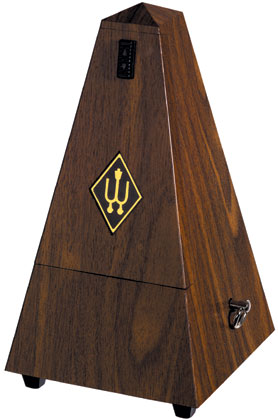 Wittner Metronome Plastic Walnut Colour With Bell