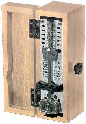 Wittner Metronome Taktell Super Mini Wooden Light Oak