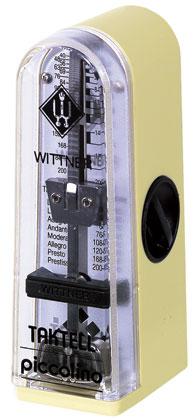 Wittner Metronome Taktell Piccolino Ivory White