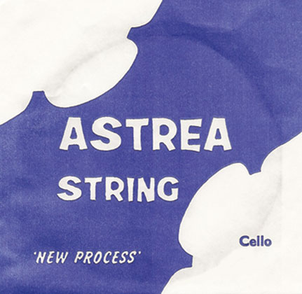 Astrea Cello G- 1/2 -1/4 size