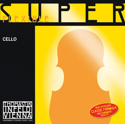 SuperFlexible Cello D Chrome Wound 4/4 - Weak R