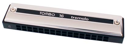 Tombo Harmonica Tremolo 16 C
