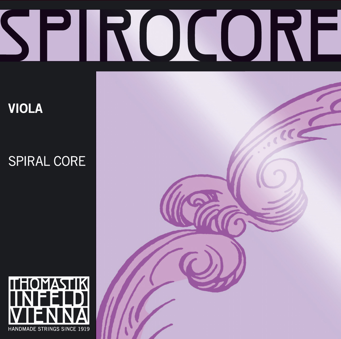 Spirocore Viola C Chrome Wound 38cm - 39 5cm R