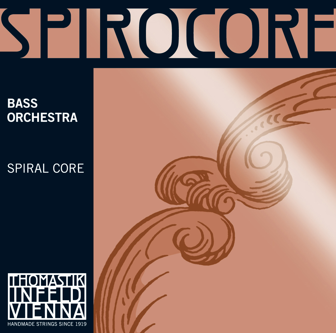Spirocore Double Bass SOLO B Chrome Wound 3/4 R
