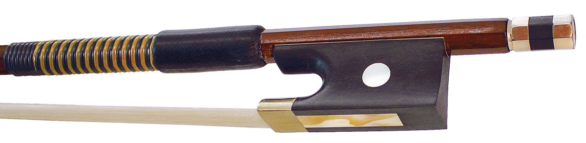Hidersine Bow Violin 3/4 size Brazilwood Octagonal Student
