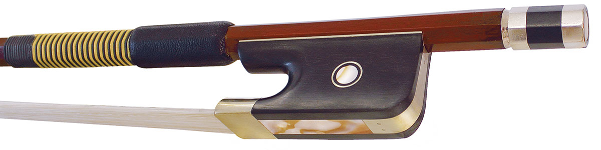 Hidersine Bow Double Bass 1/2 Brazilwood Octagonal