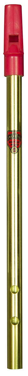 Flageolet D Folk Brass 3 hole