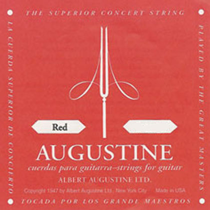 Augustine Red Label E High String