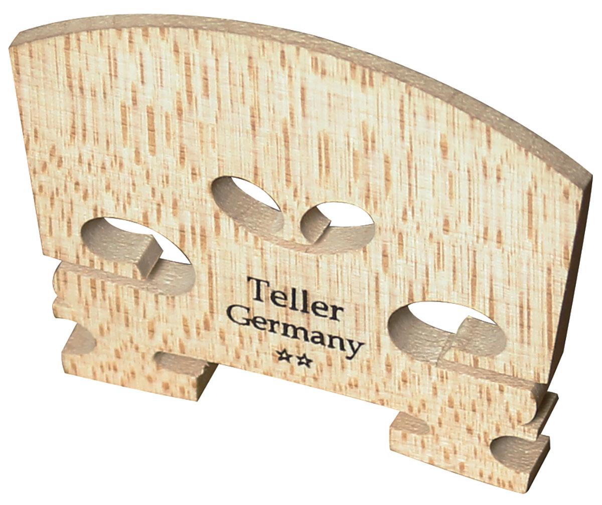 Violin Bridge - Teller Model Uncut 1/8