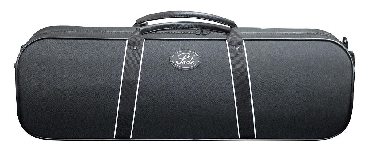 Pedi 16100 Night Stripe Series Case Violin - Black