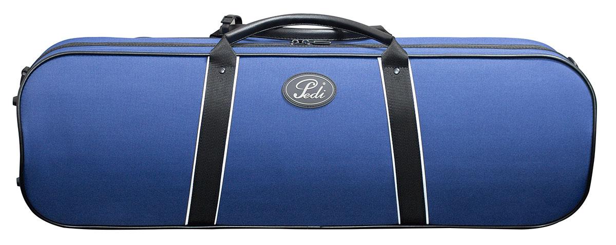 Pedi 16100 Night Stripe Series Case Violin - Blue