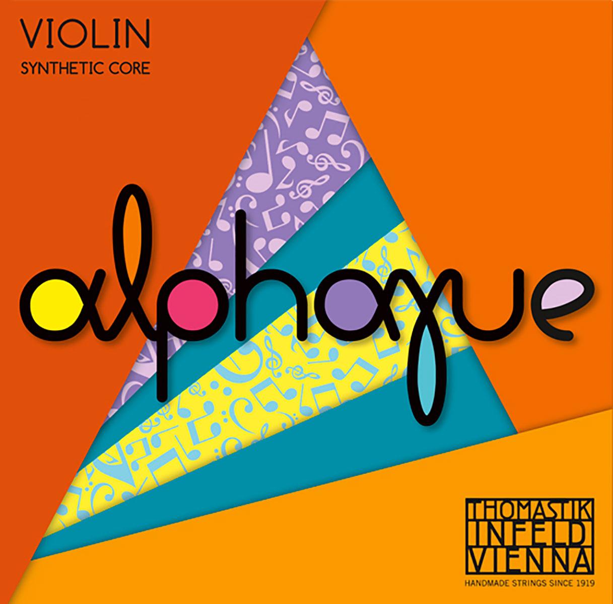 Alphayue Violin String D Silver Wound - 4/4