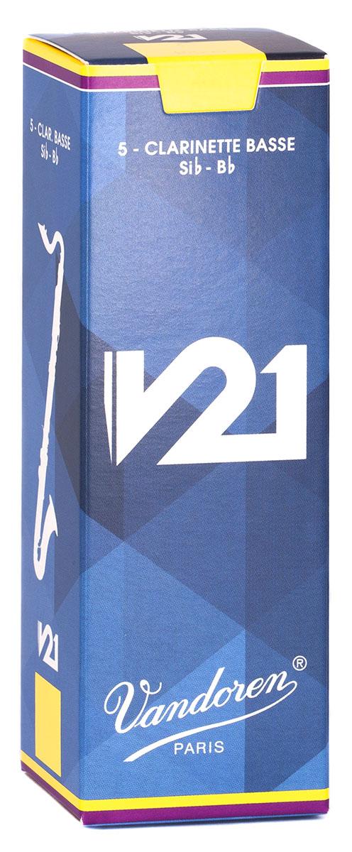 Vandoren Reeds Clarinet Bass 2 5 V21 5 BOX