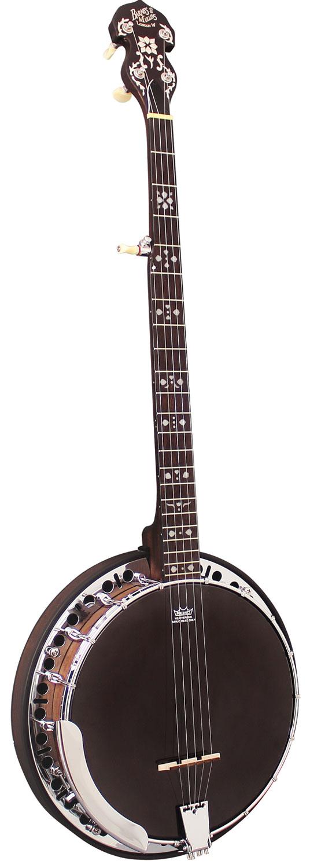 Barnes and Mullins Banjo 5 String Electro Rathbone Model
