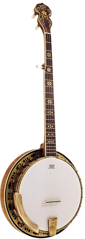 Barnes and Mullins Banjo 5 String Troubadour Model