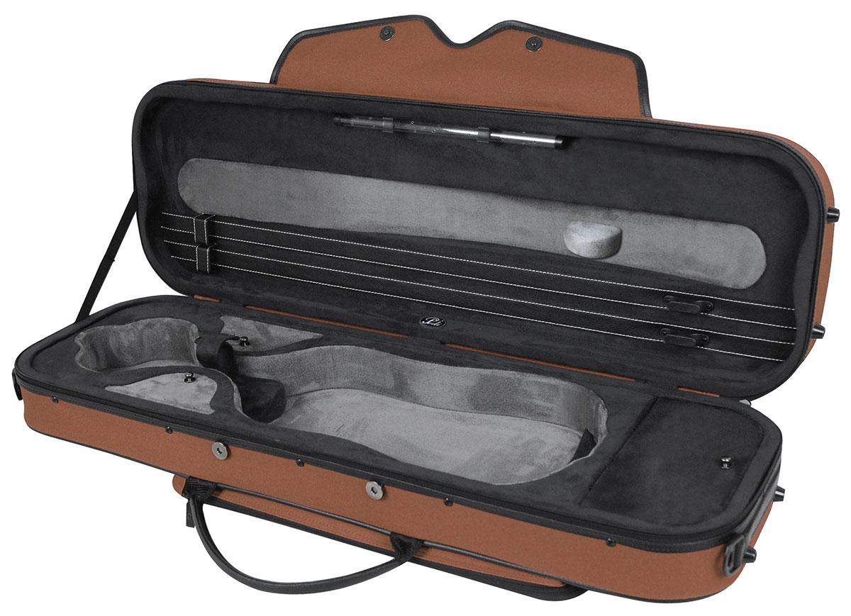 Pedi Case Violin Brown
