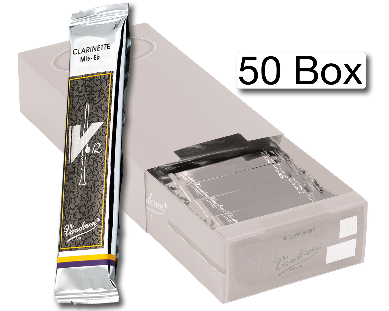 Vandoren Reeds Clarinet Bb 3 5 V12 50 BOX