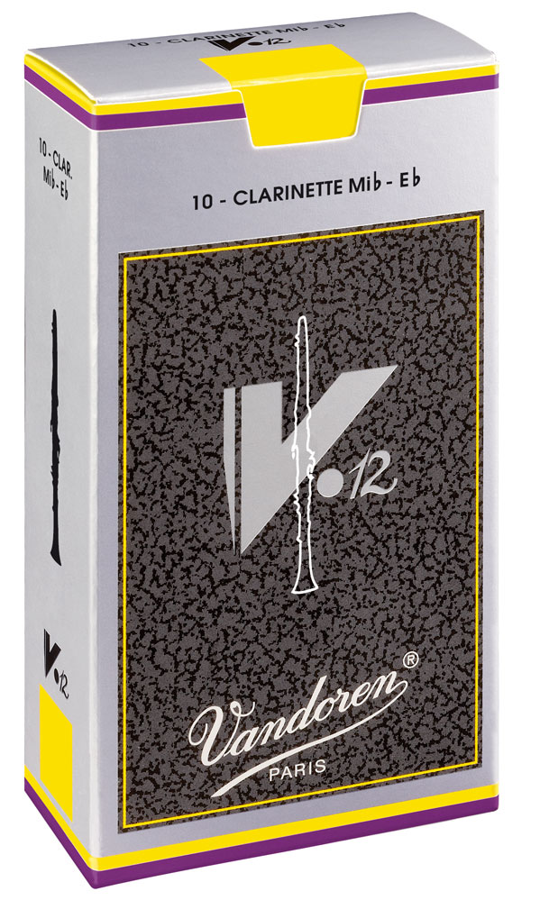 Vandoren Reeds Clarinet Eb 3 V12 10 BOX