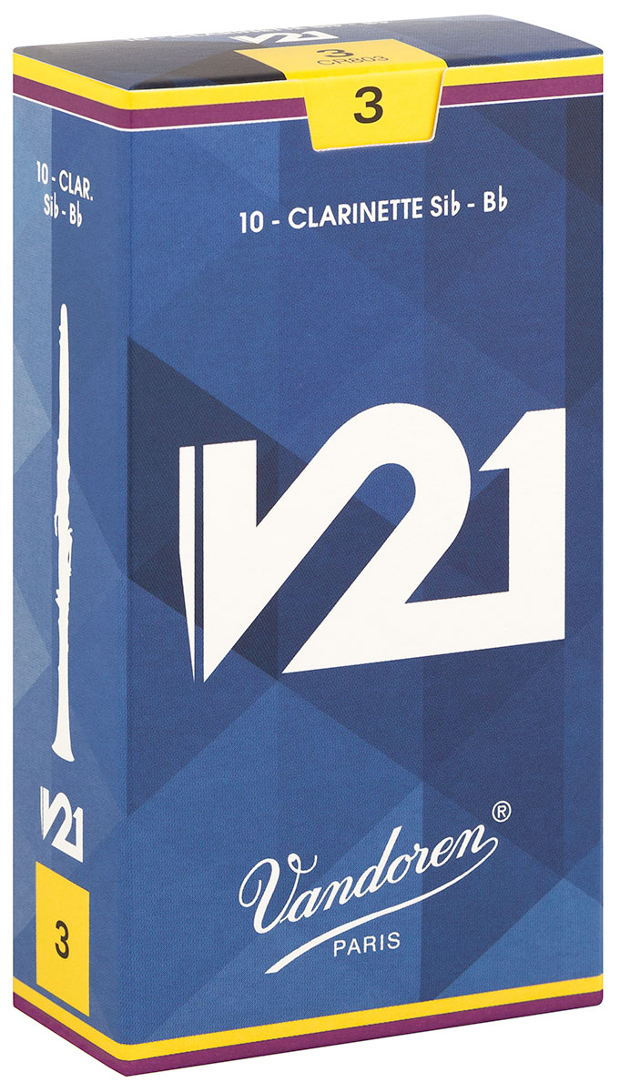 Vandoren Reeds Clarinet Bb 2 5 V21 10 BOX