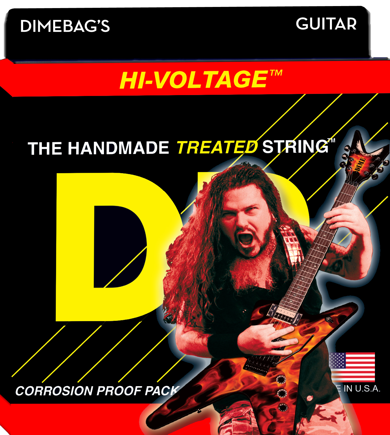 DR Strings Dimebag Darrell Signature Light
