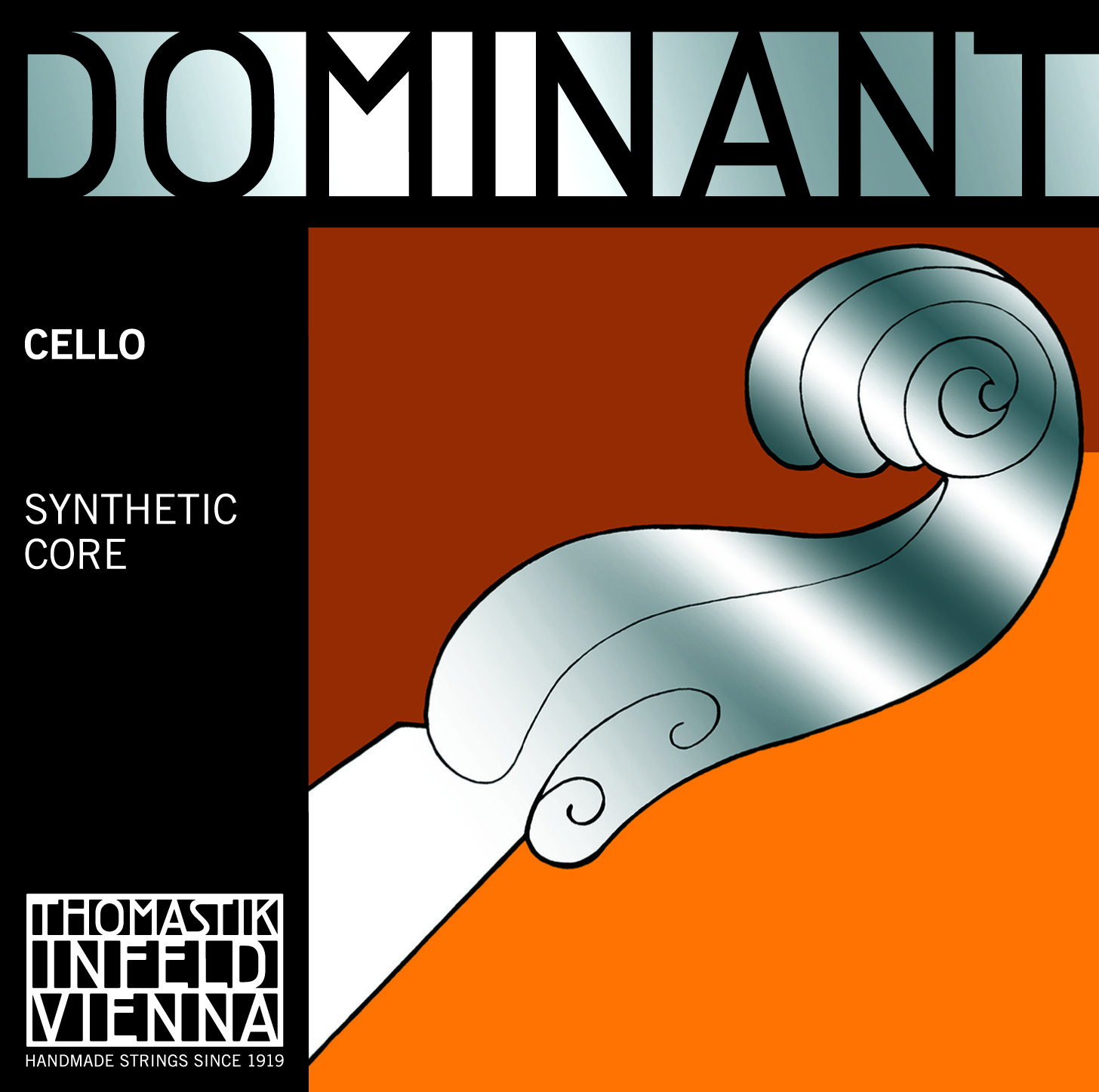 Dominant Cello D Chrome Wound 1/8