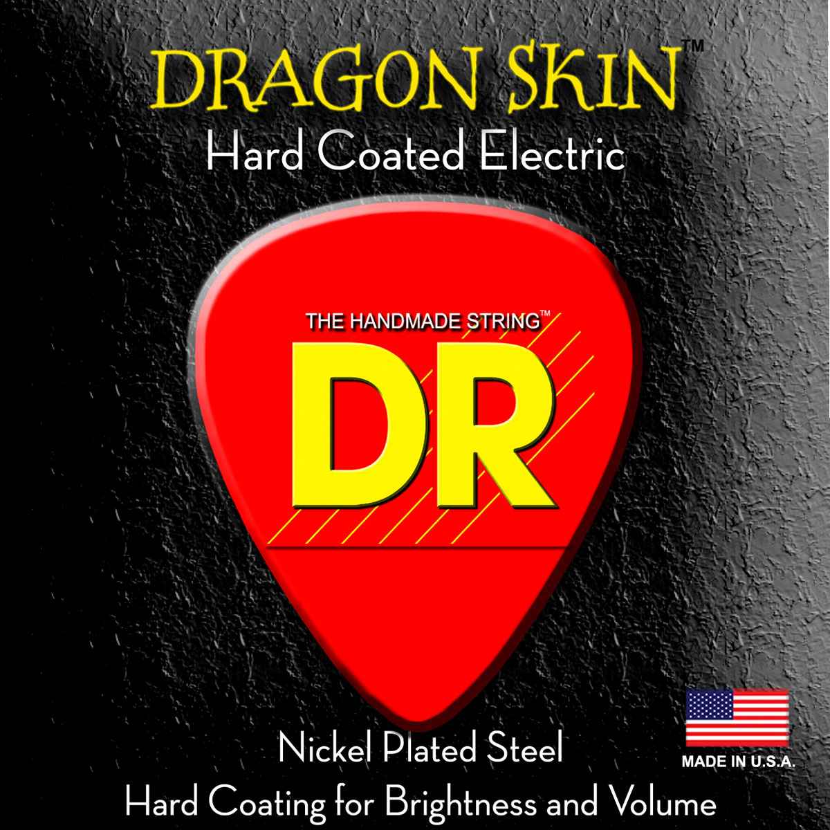 DR Strings Dragon Skin Electric Light - Heavy