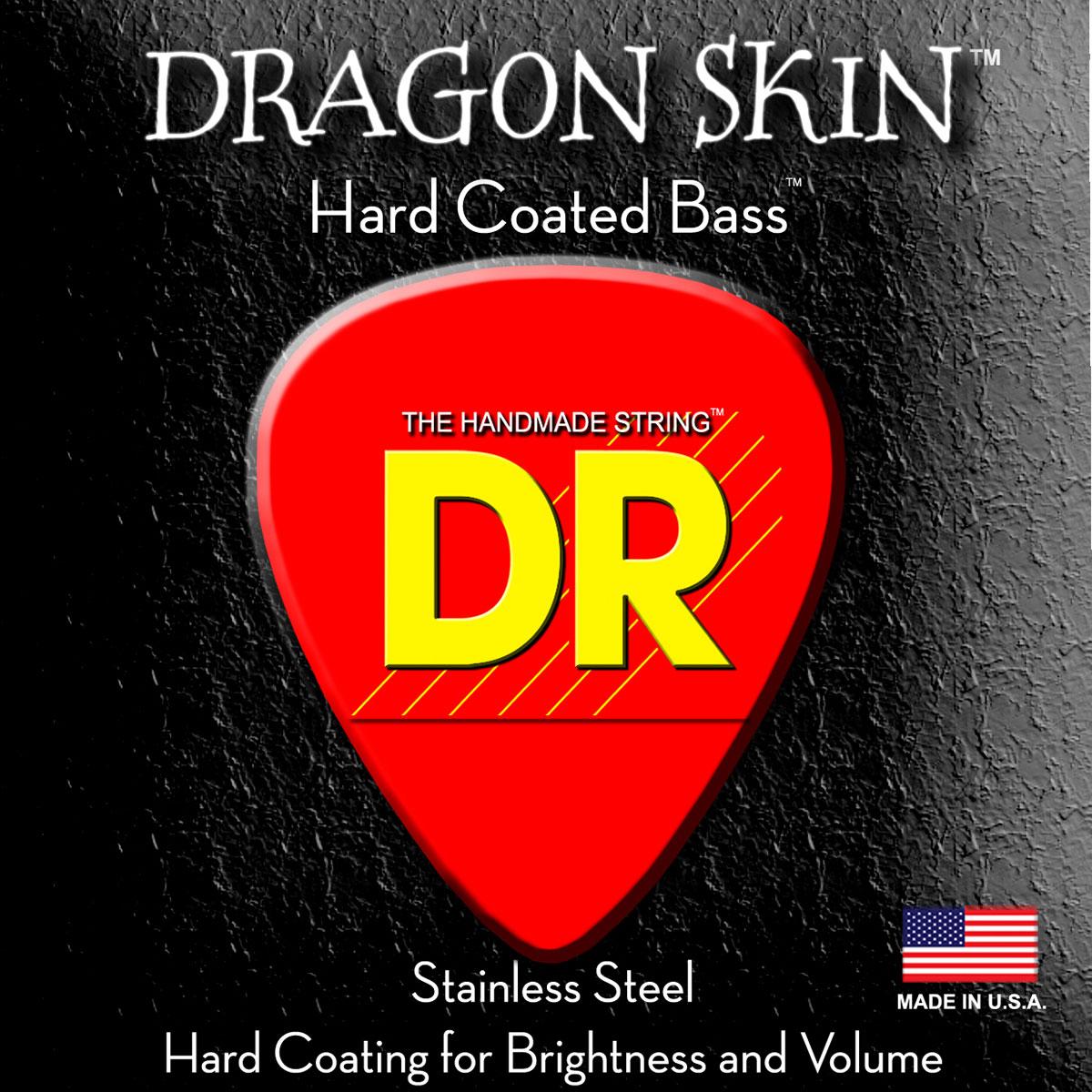 DR Strings Dragon Skin Bass Light