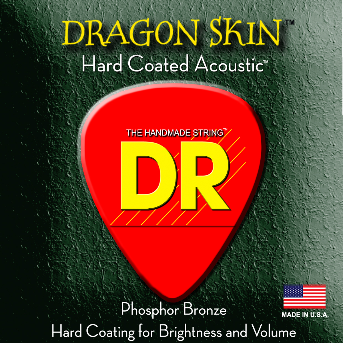 DR Strings Dragon Skin Acoustic Medium 2 Pk