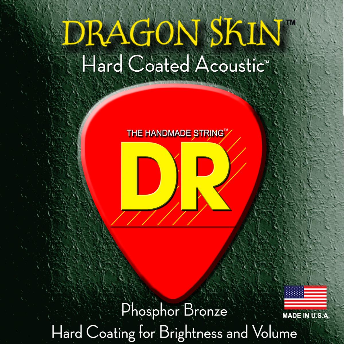 DR Strings Dragon Skin Acoustic 12 String Light