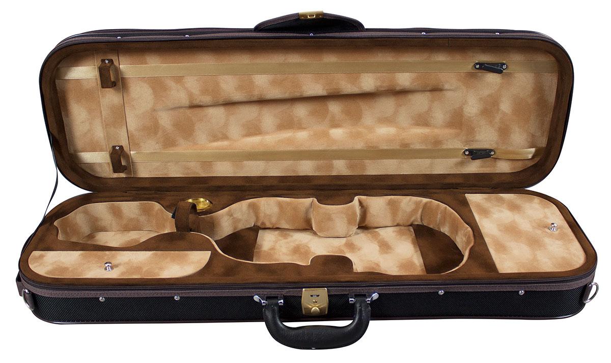 Hidersine Case Pianura Violin Oblong 4/4 - Black