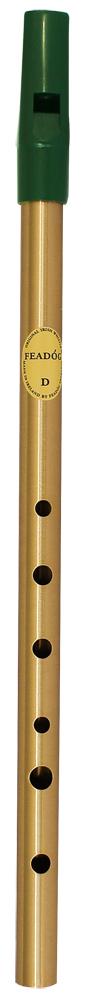 Feadog D Brass Single Pack + Instructions