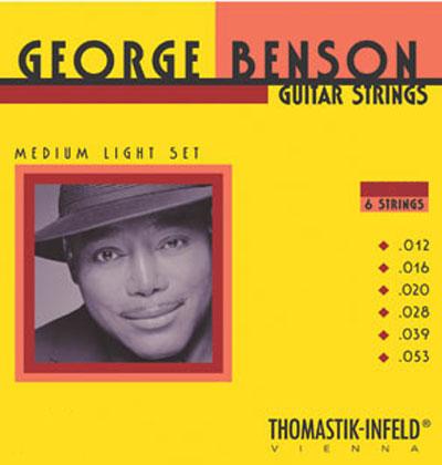 Thomastik George Benson SET Roundwound Gauge 0 012