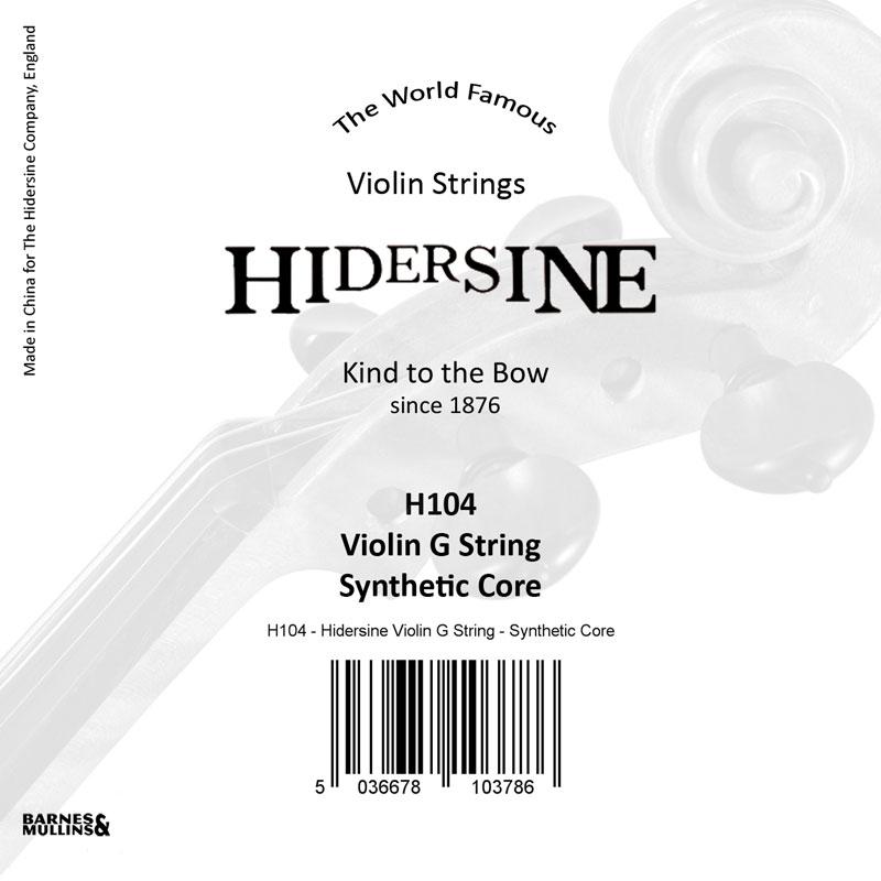 Hidersine Violin G Synthetic core