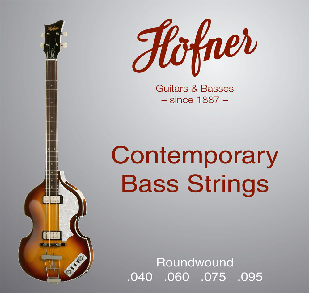 Hofner HCT String Set for Violin Bass / Club Bass