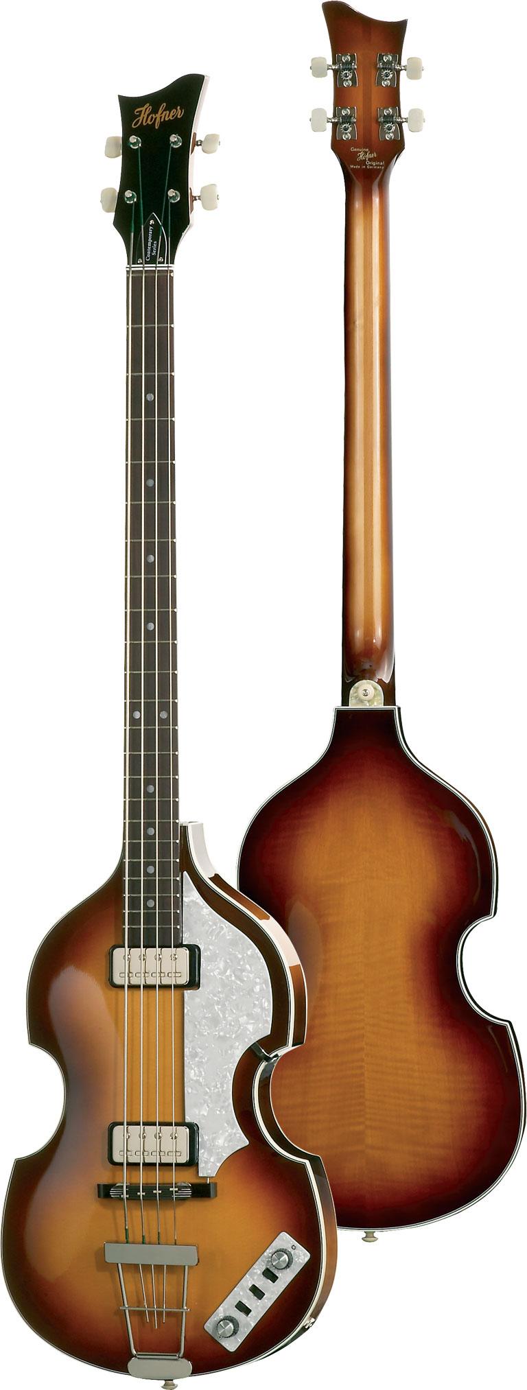 Hofner HCT Violin Bass Sunburst Lefthanded